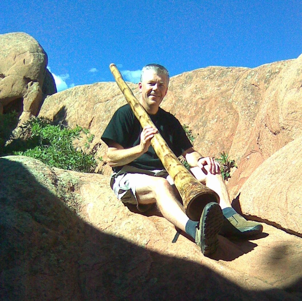 """John """"ThunderHeart"""" Robinson & Didgeridoo"""